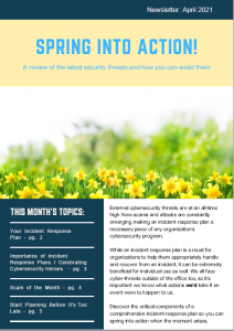 April 2021_Security Awareness Newsletter