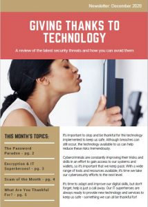 December 2020_Security Awareness Newsletter