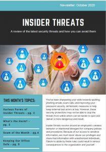 October 2020_Security Awareness Newsletter